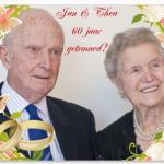 uitnodiging 60 jaar getrouwd Kaartje2go