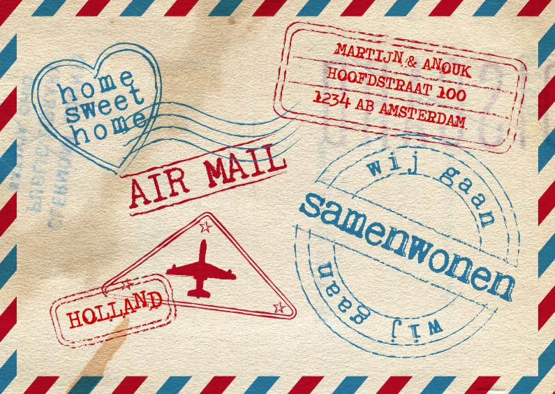 air mail samenwonen