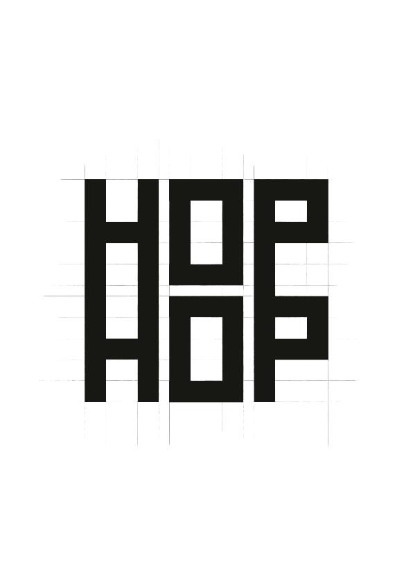 motivatie kaart hop hop