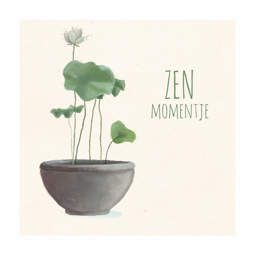 motivatie kaart zen moment