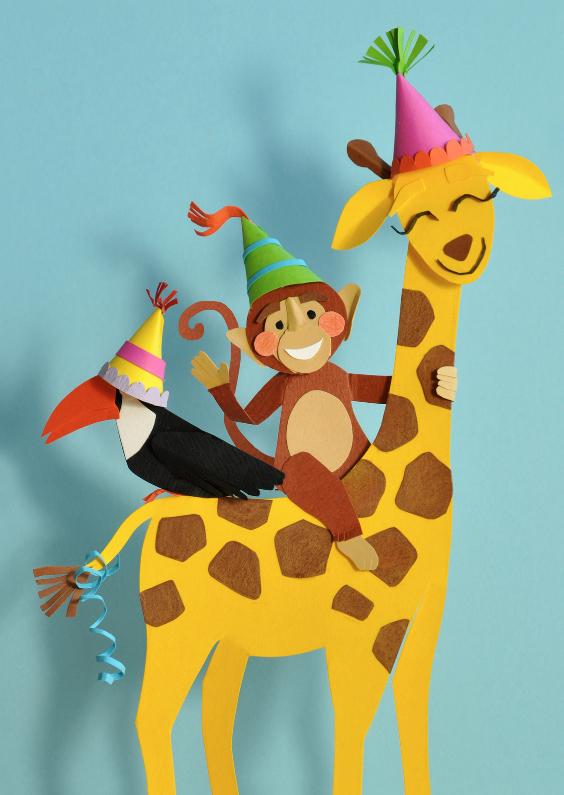 verjaardag dieren feestje