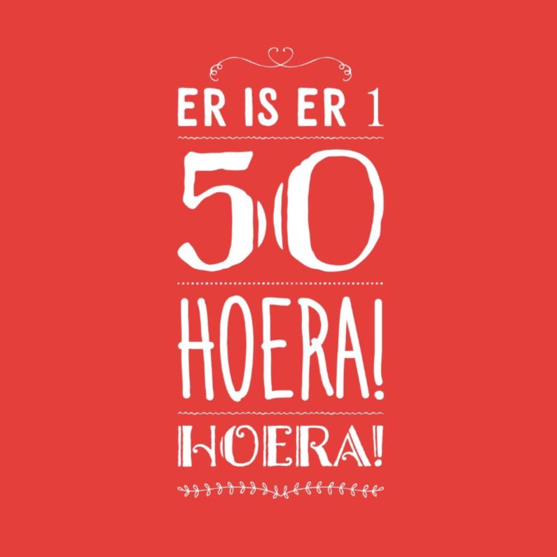50 jaar er is er 1 50