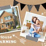housewarming uitnoding foto