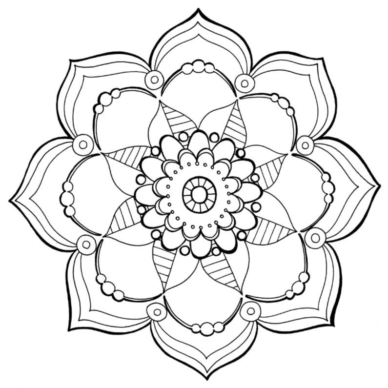 Mandala Kleurplaat Archives Uitnodigingen Nl