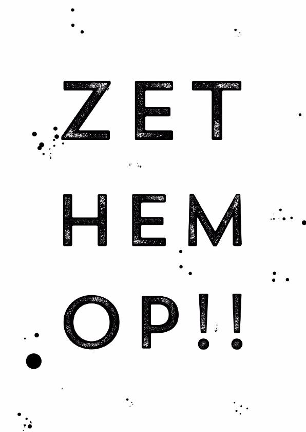 Vaak Start je met een nieuwe baan? Heel veel succes - Uitnodigingen.nl #CK32