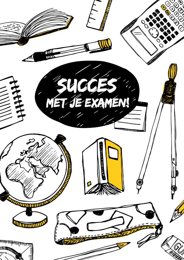 erevista kaart succes examen