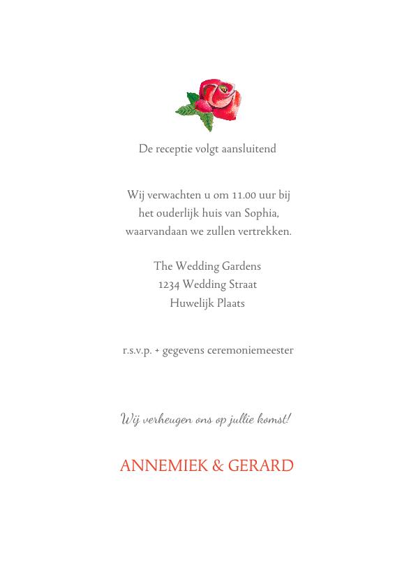 De Mooiste Trouwkaarten Voor Een Bohemian Bruiloft