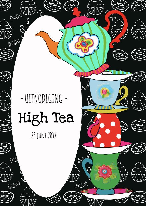 Vaak Uitnodigingen High Tea maak je gemakkelijk met Kaartje 2go! @XQ99