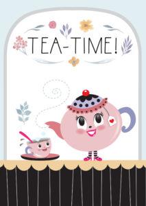 Magnifiek uitnodiging-high-tea-tirzaworld - Uitnodigingen.nl @PC97