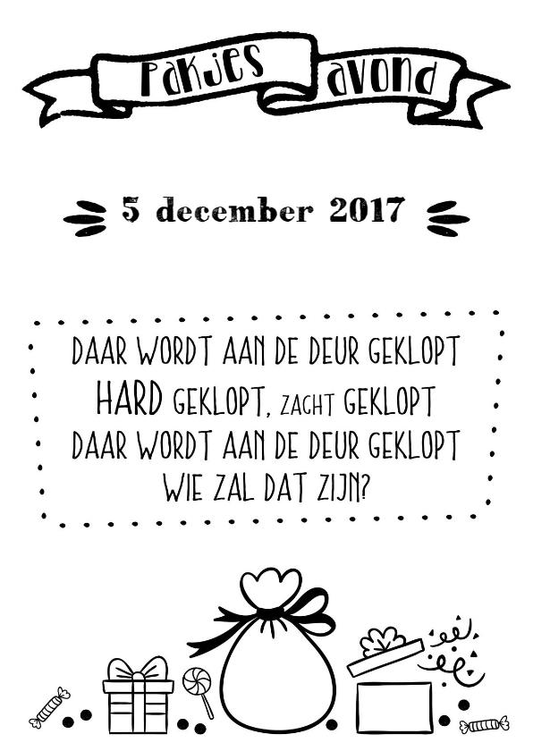 Fonkelnieuw Stuur eens een mooie uitnodiging voor Sinterklaas om samen het MQ-32