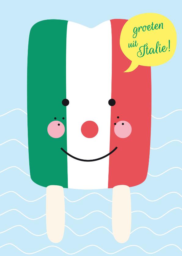 vakantie vakantiekaart italie