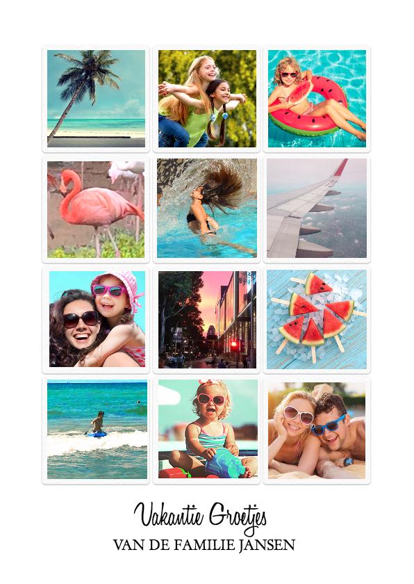 vakantie groetjes instagram