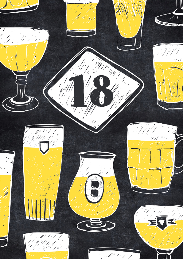 Extreem 18 jaar verjaardag Archives - Uitnodigingen.nl #JA15