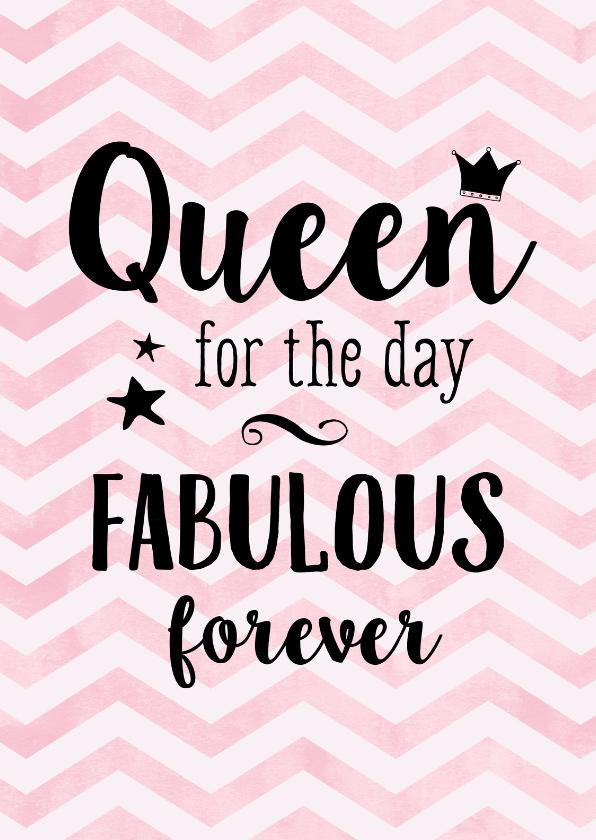 verjaardag verjaardagskaart queen