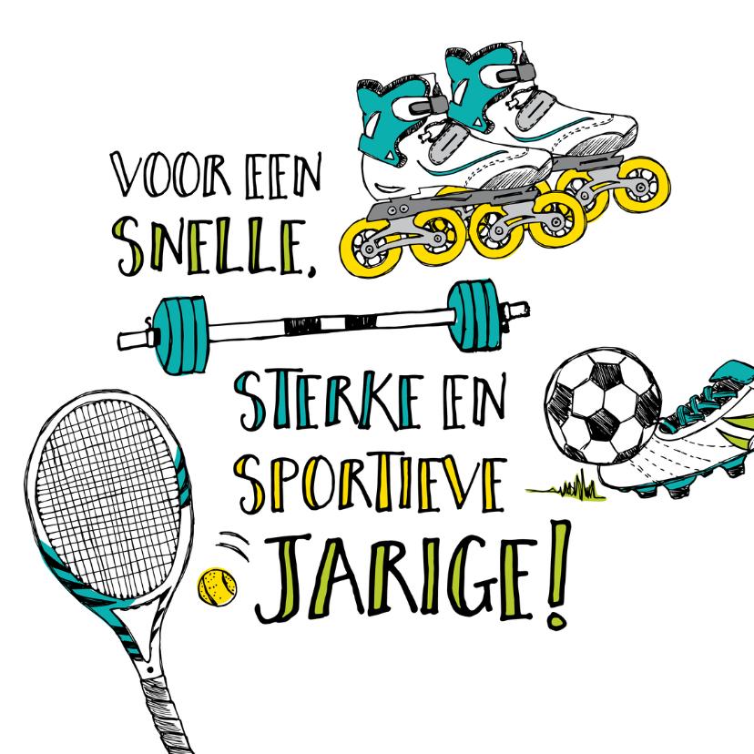 Stoere Grappige Of Sportieve Verjaardagskaarten Man Bij Kaartje2go