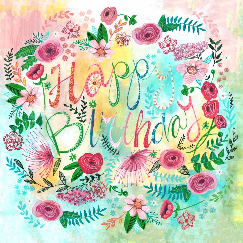 Verjaardagskaart Afbeelding