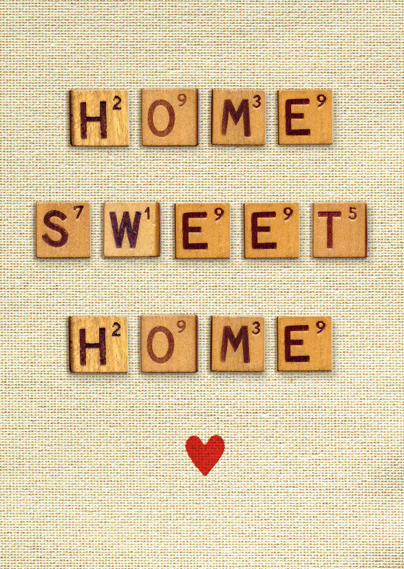 welkom thuis vintage